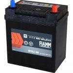 FIAMM black TITANIUM 35Ah 300A starter battery