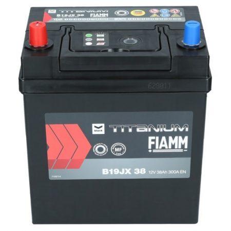 FIAMM black TITANIUM 35Ah 300A indítóakkumulátor