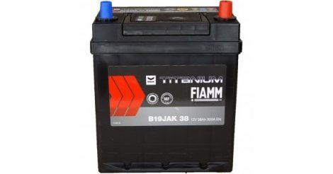 FIAMM black TITANIUM 38Ah 300A indítóakkumulátor
