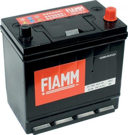 FIAMM black TITANIUM 45Ah 330A indítóakkumulátor