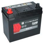 FIAMM black TITANIUM 45Ah 360A starter battery