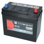 FIAMM black TITANIUM 45Ah 360A indítóakkumulátor