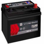 FIAMM black TITANIUM 50Ah 420A indítóakkumulátor