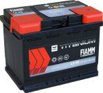 FIAMM black TITANIUM 55Ah 480A starter battery