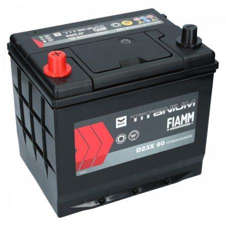 FIAMM black TITANIUM 60Ah 540A indítóakkumulátor