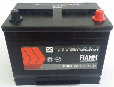 FIAMM black TITANIUM 70Ah 540A indítóakkumulátor