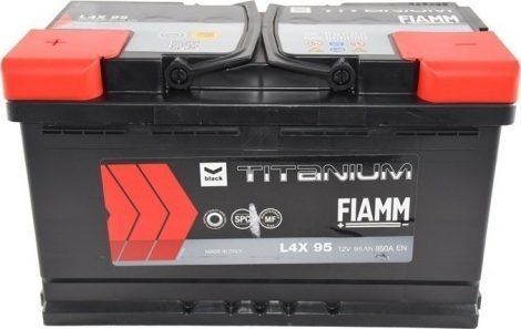 FIAMM black TITANIUM 95Ah 850A indítóakkumulátor
