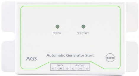 TBB Power AGS automatikus generátorindító eszköz CF inverterekhez