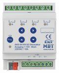 MDT AKD-0410V.02 KNX dimmer aktor 4x230VAC 16A; 1-10V
