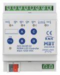 MDT AKD-0424R.02 KNX dimmer aktor 4x12/24VDC 4A; PWM