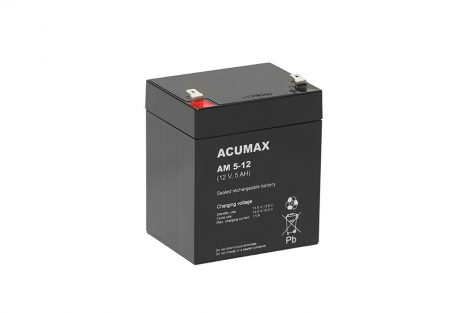 ACUMAX AM5-12 12V 5Ah akkumulátor
