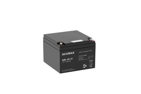ACUMAX AML26-12 12V 26Ah akkumulátor
