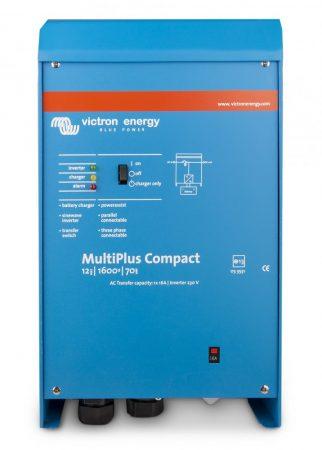 Victron Energy MultiPlus Compact 24V 800VA/700W inverter beépített akkumulátortöltővel