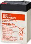 Cellpower CP4-6 6V 4Ah szünetmentes/UPS akkumulátor