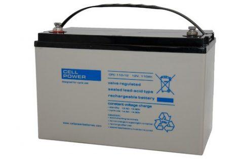 Cellpower CPC110-12 12V 110Ah ciklikus/szolár akkumulátor