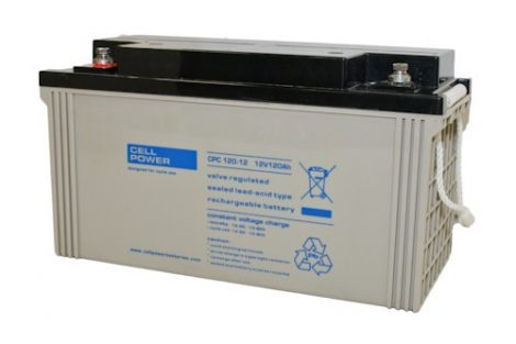 Cellpower CPC120-12 12V 120Ah ciklikus/szolár akkumulátor