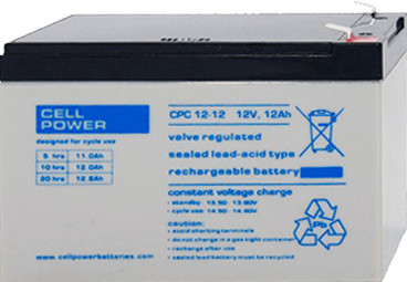Cellpower CPC135-12 12V 135Ah ciklikus/szolár akkumulátor