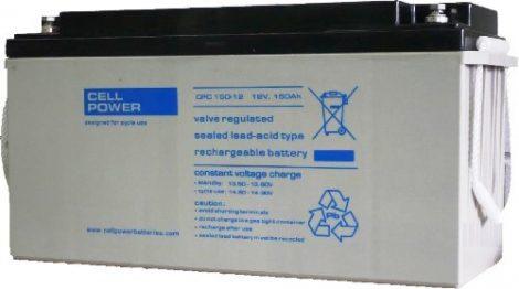 Cellpower CPC150-12 12V 150Ah ciklikus/szolár akkumulátor