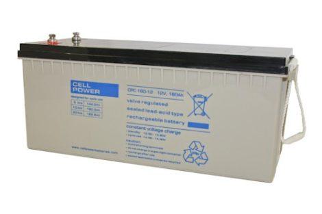 Cellpower CPC160-12 12V 160Ah ciklikus/szolár akkumulátor