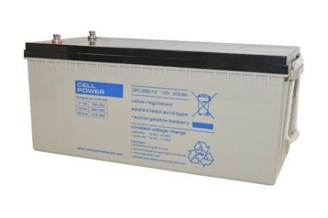Cellpower CPC200-12 12V 200Ah ciklikus/szolár akkumulátor