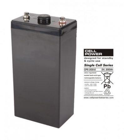 Cellpower CPS200-2 2V 200Ah ciklikus/szolár akkumulátor