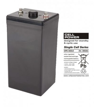Cellpower CPS300-2 2V 300Ah ciklikus/szolár akkumulátor
