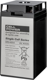 Cellpower CPS400-2 2V 400Ah ciklikus/szolár akkumulátor