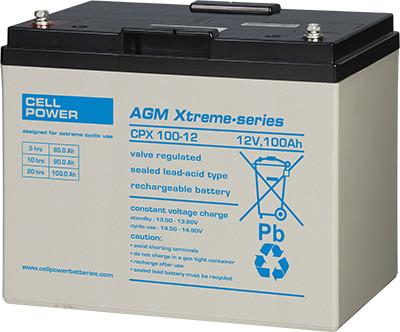 Cellpower CPX100-12 12V 100Ah ciklikus/szolár akkumulátor