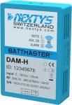 NEXTYS DAM-L 2V akkumulátormérő egység