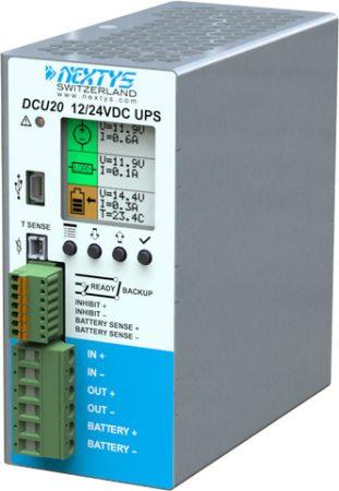 NEXTYS DCU20 12-24V 20A szünetmentes tápegység