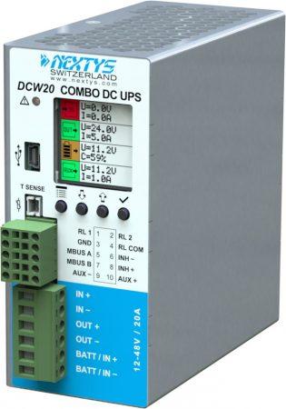 NEXTYS DCW20 12-48V 20A szünetmentes tápegység
