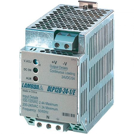 TDK-Lambda DLP120-24-1/E 24V 5A 120W tápegység