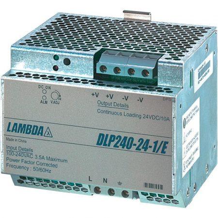 TDK-Lambda DLP240-24-1/E 24V 10A 240W tápegység