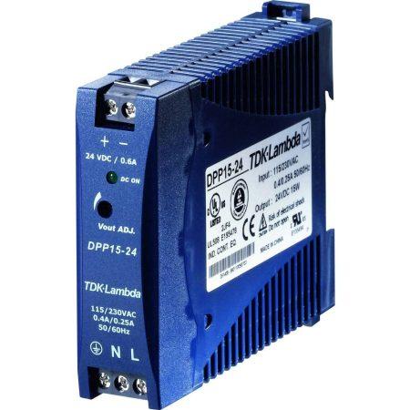 TDK-Lambda DPP15-24 24V 0,63A 15W tápegység