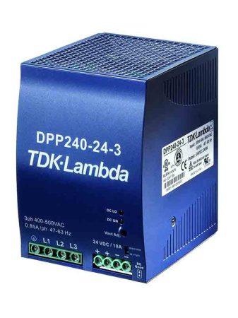TDK-Lambda DPP240-24-1 24V 10A 240W tápegység