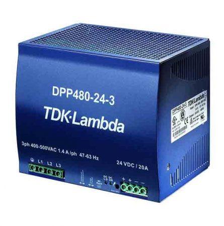 TDK-Lambda DPP480-24-1 24V 20A 480W tápegység