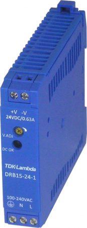 TDK-Lambda DRB15-24-1 24V 0,63A 15W tápegység