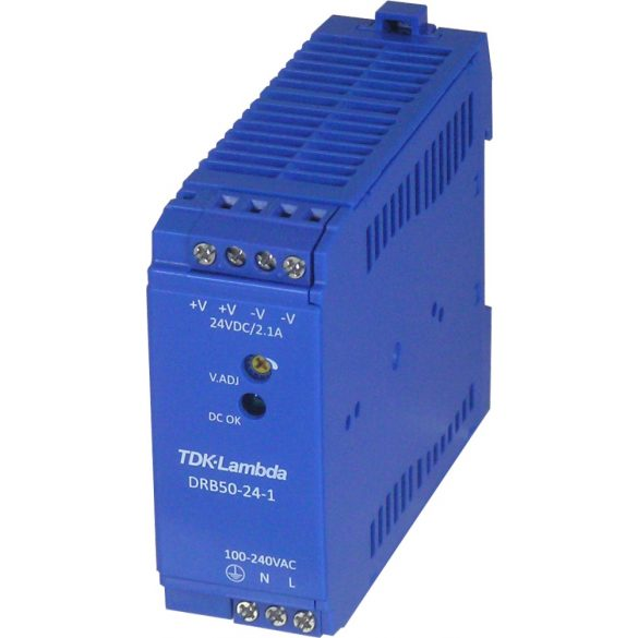 TDK-Lambda DRB50-24-1 24V 2,1A 50W tápegység