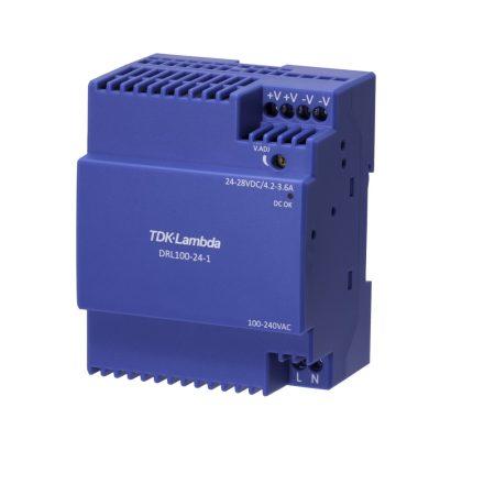 TDK-Lambda DRL100-24-1/C2 24V 3,67A 88W tápegység