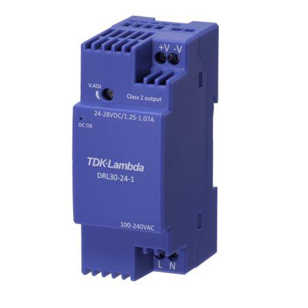 TDK-Lambda DRL30-24-1 24V 1,25A 30W tápegység