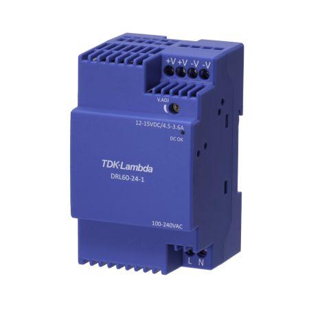 TDK-Lambda DRL60-15-1 15V 3,6A 54W tápegység
