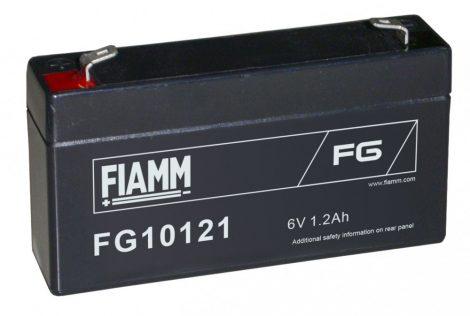 FIAMM FG10121 6V 1,2Ah Ipari zárt (zselés) ólomakkumulátor