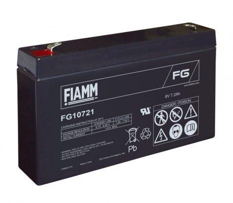 FIAMM FG10721 6V 7,2Ah Ipari zárt (zselés) ólomakkumulátor