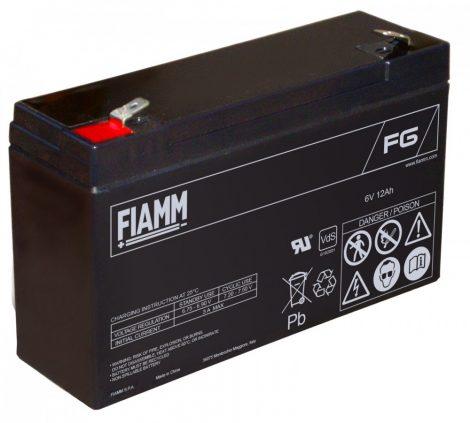 FIAMM FG11202 6V 12Ah Ipari zárt (zselés) ólomakkumulátor