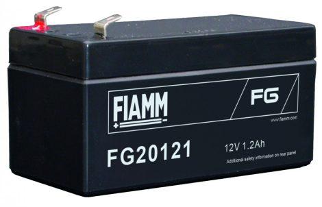 FIAMM FG20121 12V 1,2Ah Ipari zárt (zselés) ólomakkumulátor