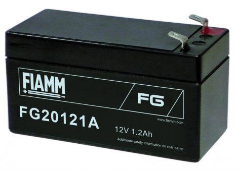 FIAMM FG20121A 12V 1,2Ah Ipari zárt (zselés) ólomakkumulátor