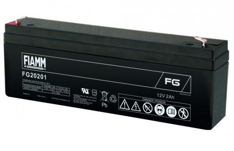 FIAMM FG20201 12V 2Ah Ipari zárt (zselés) ólomakkumulátor