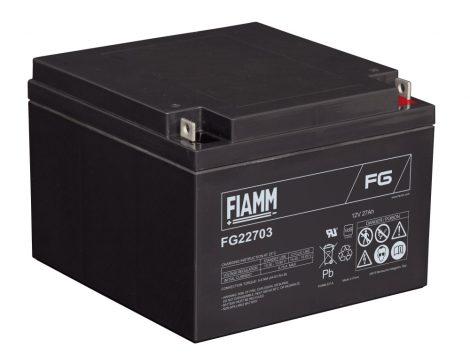 FIAMM FG22703 12V 27Ah Ipari zárt (zselés) ólomakkumulátor