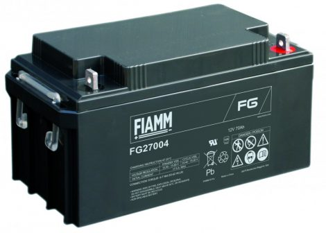 FIAMM FG27004 12V 70Ah Ipari zárt (zselés) ólomakkumulátor