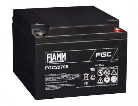 FIAMM FGC22705 12V 27Ah Ipari zárt (zselés) ólomakkumulátor